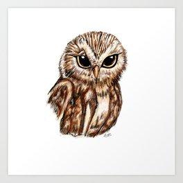 Wise 'Ole Owl Art Print
