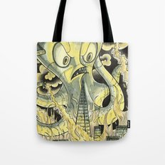 Steamechanical Octopus Tote Bag