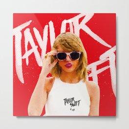 Tay Tay Swift Metal Print
