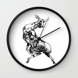 Not a Deer Wall Clock