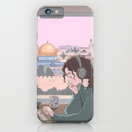 Pali lofi girl iPhone Case