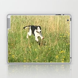 Happiness is running wild and free, and not letting your feet touch the ground! Laptop & iPad Skin