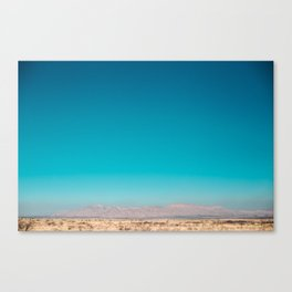 Pink Mountains of West Texas Canvas Print