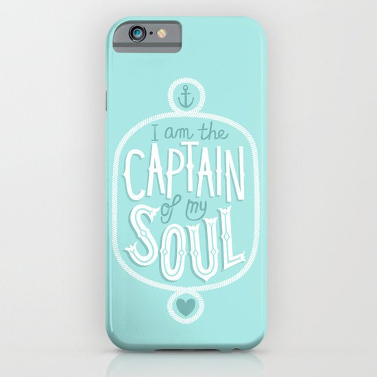 I am the Captain of my Soul iPhone & iPod Case