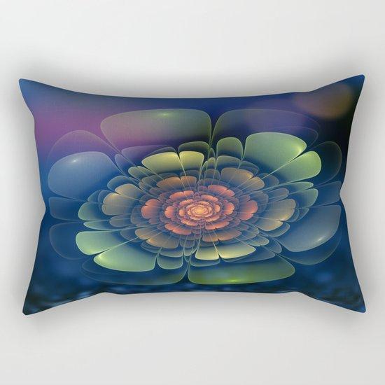 A Beautiful Fractal Flower 2 Rectangular Pillow