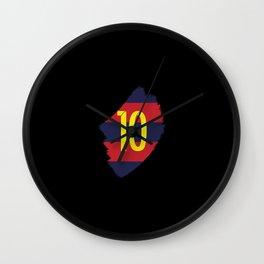 Barcelona Messi Lionel Inside Wall Clock
