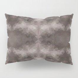 Kaleidoscopic design in dark colors Pillow Sham