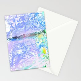 Spring under the trees Stationery Cards