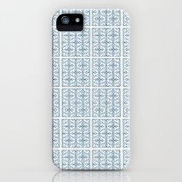Blue Tile Pattern No. 2 iPhone Case