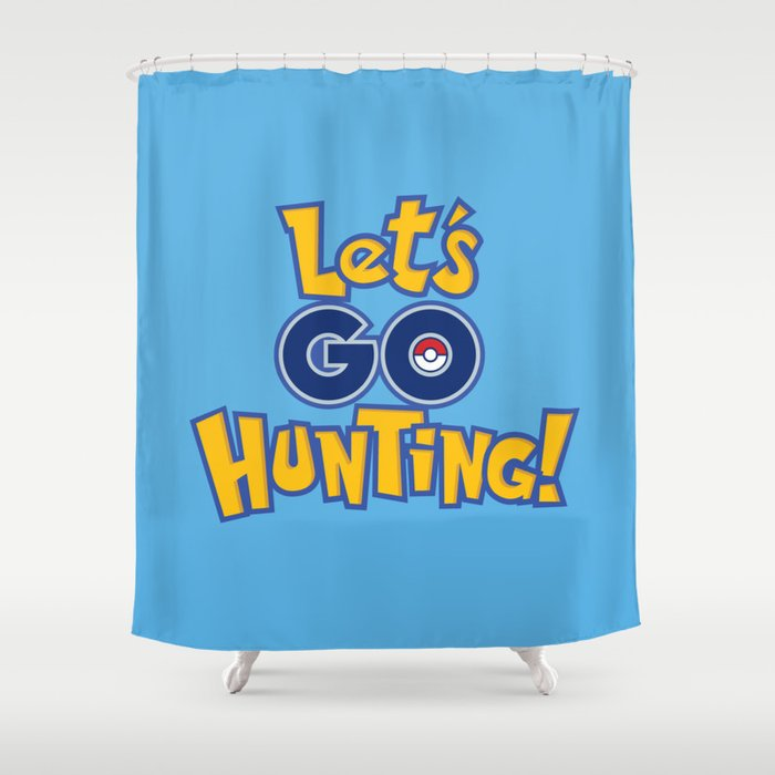 Let\'s Go Hunting! Shower Curtain by doodledojo | Society6