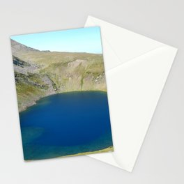 seven rila lakes Stationery Cards