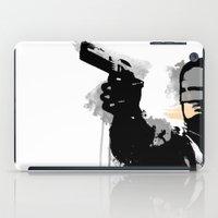 robocop iPad Cases featuring RoboCop by Molnár Roland