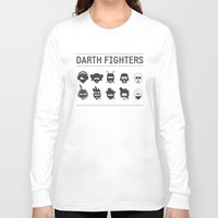 foo fighters Long Sleeve T-shirts featuring Darth Fighters by Nillustra™