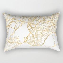 NEW YORK CITY NEW YORK CITY STREET MAP ART Rectangular Pillow