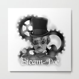 Steam-Poe Metal Print