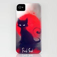 Red Sun iPhone (4, 4s) Slim Case