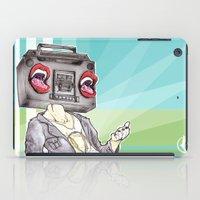 radiohead iPad Cases featuring RadioHead by Andrea Fonseca Illustration