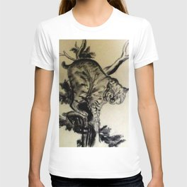 Bob Cat In A Tree T-shirt
