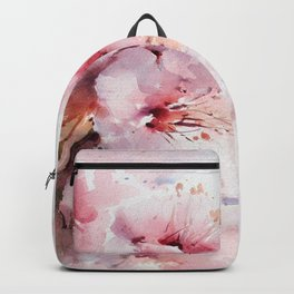 Peach Blossom - Painting Backpack