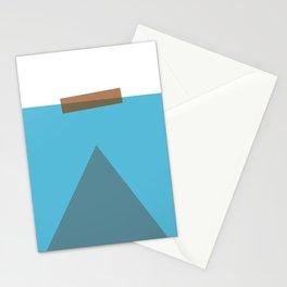 Jaws Minimalist Movie Poster Stationery Cards