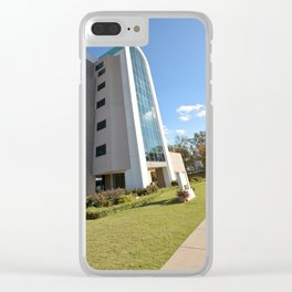 Northeastern State University - The W. Roger Webb IT Building, No. 10 Clear iPhone Case