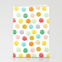 confetti Stationery Cards featuring Confetti by Catalina Montaña