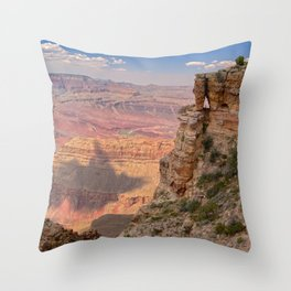 Grand Canyon view from Pinal Point Throw Pillow