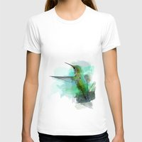 hummingbird T-shirts featuring Hummingbird by Marvelis