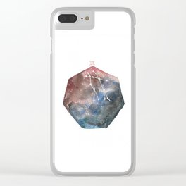 Gemini Clear iPhone Case
