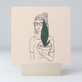 Whale Fin Mini Art Print