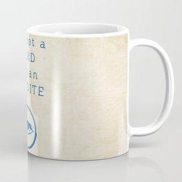NERD? ERUDITE - DIVERGENT Coffee Mug
