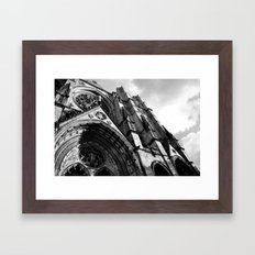Cathedral of Saint John The Divine  Framed Art Print
