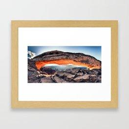 """""""Sunrise Glow"""" Framed Art Print"""