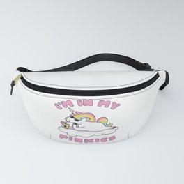 I'm in my Pinkies Unicorn Fanny Pack