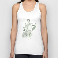 movies Tank Tops featuring The Birds - Movies & Outfits by Meritxell Garcia