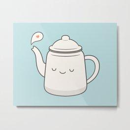 Teapot Metal Print