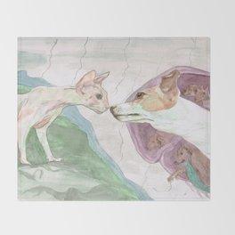 Creation of Ziggy Throw Blanket