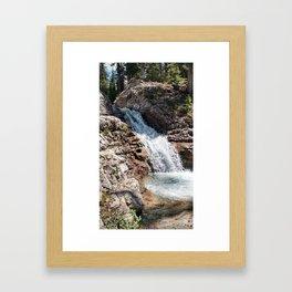 Buller Falls Framed Art Print
