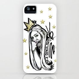 #STUKGIRL MADISEN iPhone Case