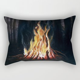 Campfie Strories Rectangular Pillow