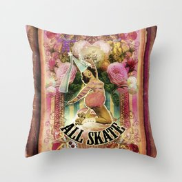All Skate Throw Pillow
