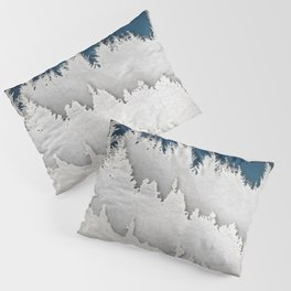 A Snowy Hike Pillow Sham
