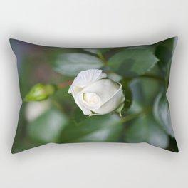 Single Rose Rectangular Pillow