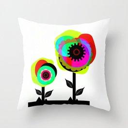 Fleurs 02 Throw Pillow