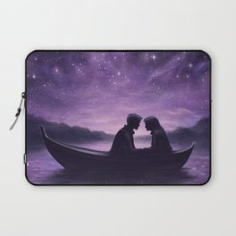 Lovers Under A Starlit Sky Laptop Sleeve