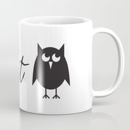 Farmhouse Style Hand Lettered Night Owl Coffee Mug