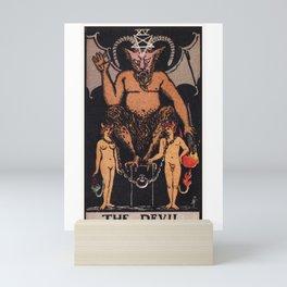 The Devil Tarot Card Mini Art Print