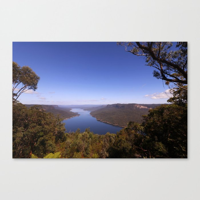 Burragorang Lookout Landscape Canvas Print