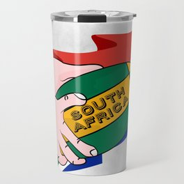 South Africa Rugby Travel Mug