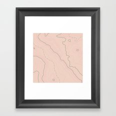 Maps Maps Maps Framed Art Print